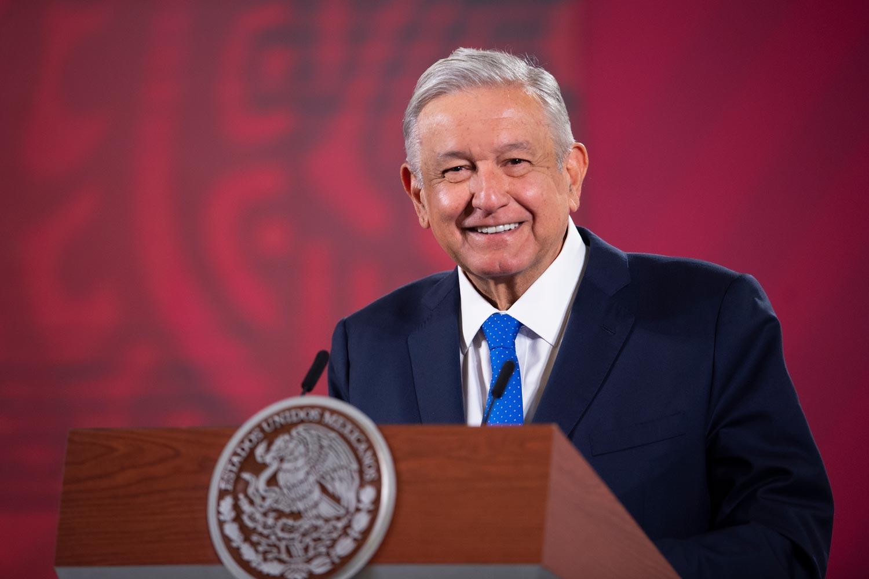 Presidente mexicano Andrés Manuel López Obrador. Foto por gobierno mexicano.