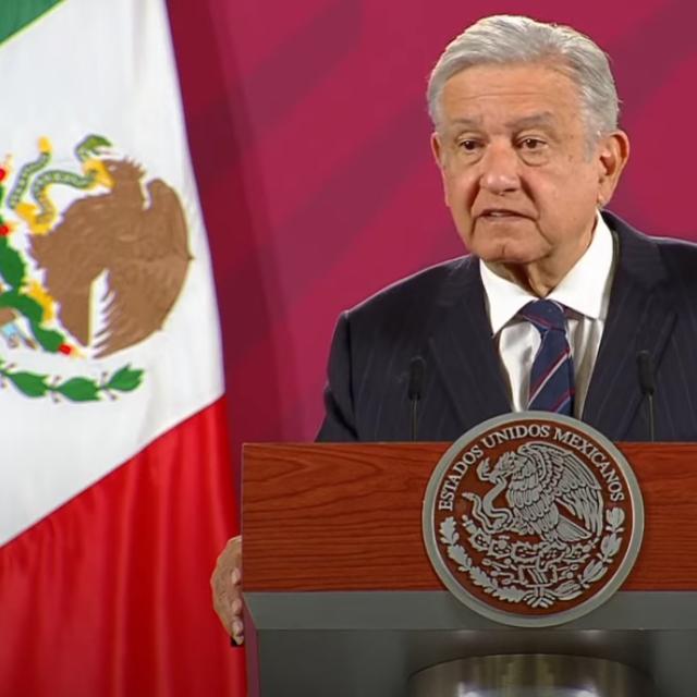 Presidente mexicano Andrés Manuel López Obrador. Conferencia de prensa. Viernes 16 de octubre de 2020.