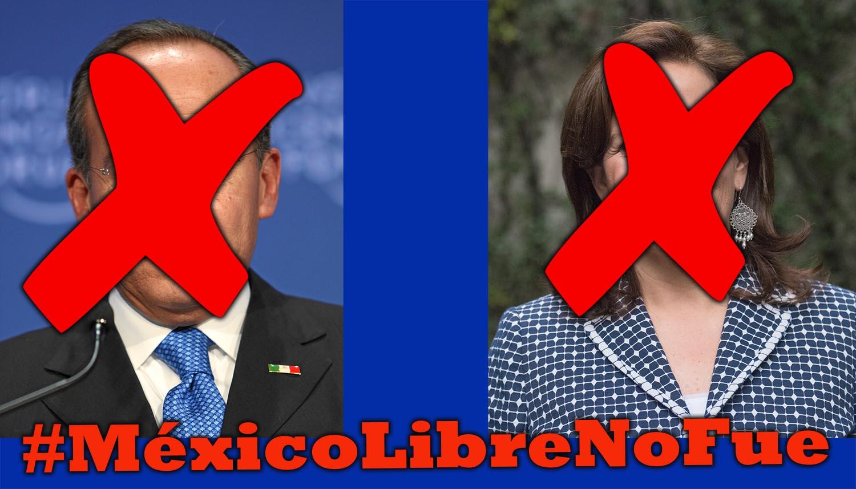 #MexicoLibreNoFue