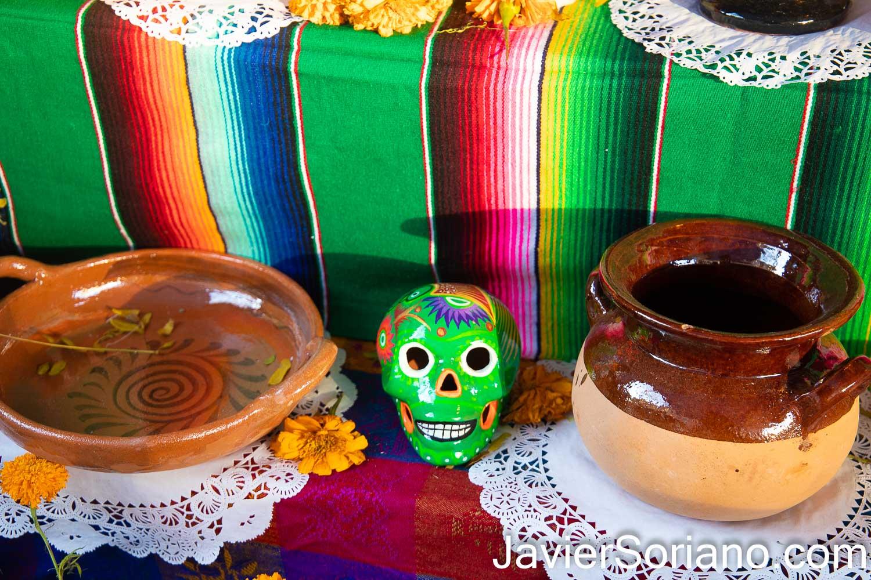 """Lunes 2 de noviembre de 2020. Brooklyn, Ciudad de Nueva York – El restaurant """"Taqueria El Patron Mexican Grill"""" celebró el Día De Muertos. Foto por Javier Soriano/www.JavierSoriano.com"""